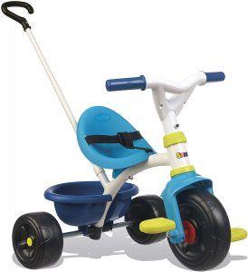 Smoby - 740323 - Tricycle Evolutif Be Fun - Bleu
